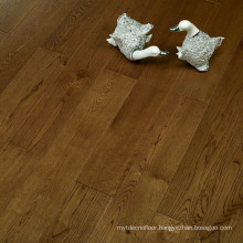 Click system Brown Oak Engineered Wood Flooring