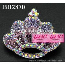 crown crystal fashion brooches