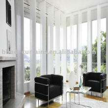 Comfortable vertical panel blind
