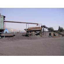 Carbón antracítico calcinado como elevador de carbono