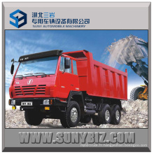 25t 30t 35t 300HP Shacman a`Long 6X4 Camion benne