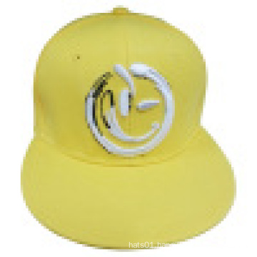 Fitted Snapback Caps with Flat Peak New072
