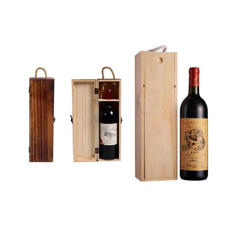 The Red Wine Packaging Wooden Box