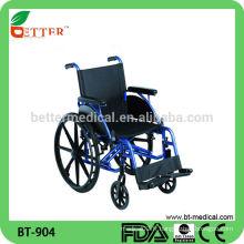 Chaise roulante en aluminium la plus vendue