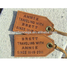 Fashionable Travel Leather Luggage Tag