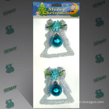 Plastic Decorative Crystal Christmas ornament Christmas decoration