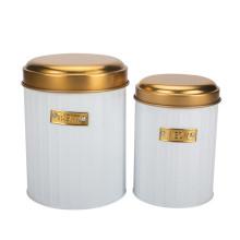 Retro Cookie & Coffee Jar Set