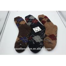 Мужские зимние мужские домашние носки с антискользящим покрытием для всего