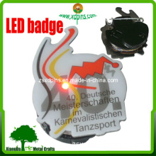 Custom Fashion LED Metal Badge (X-15)