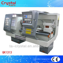 China small cnc pipe thread lathe machine operation QK1313