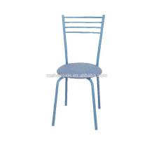 Досуг Синяя спинка Обеденный стул для отеля