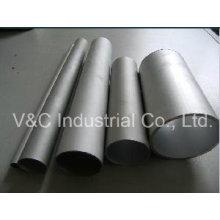 Tuyau en aluminium rond, rectangulaire, carré et hexagonal