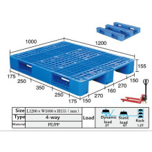 PP Double Faced Euro Plastic Pallet for Warehouse, Rack Storage