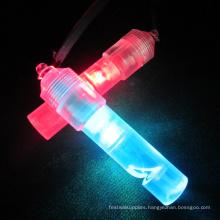 bulk led flashing light whistle glitter whistle