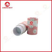 Customized Lip Balm Container Round Paper Box