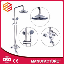 rain shower rod set complete shower mixer set