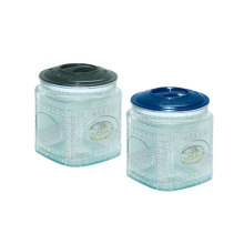 2015 New Product of Plastic Jar with Lids