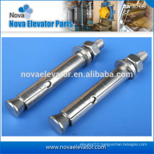 grade 6.8 wedge anchor for elevator manufacturer M16*100 ISO9001