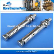 grade 6.8 wedge anchor for elevator manufacturer M16*100 ISO9001