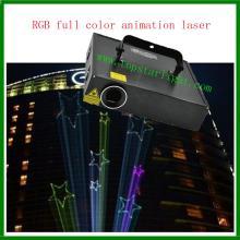 Phim hoạt hình hồ Laser sáng RGB hoạt hình chiếu Laser bán buôn