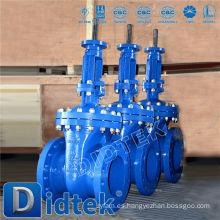 Didtek ASME Válvula de compuerta de acero fundido estándar