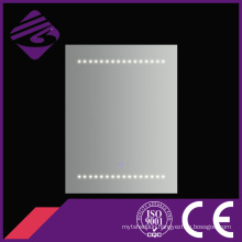 Jnh168 Cheappolished Rectangle Bathroom Mirror with Wonderful Point LED Light