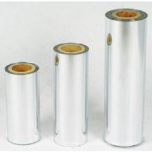 Embalaje de alimentos impreso Película metalizada BOPET