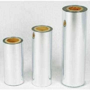 Emballage d'alimentation imprimé Film métallisé BOPET