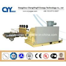Cyyp 61 Ununterbrochener Service Großer Durchfluss und hoher Druck LNG Liquid Oxygen Stickstoff Argon Multiserise Kolbenpumpe