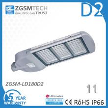 180W verre trempé IP66 solaire LED réverbère