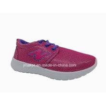 Chaussures confortables de sport d'injection de PVC pour des enfants (DA02-B)
