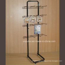 Single Sided Floor Metal Display Rack (PHY374)
