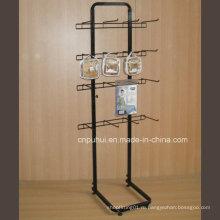 Односторонняя напольная металлическая стойка для дисплея (PHY374)