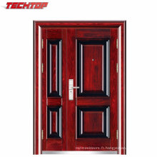 Porte intérieure en acier inoxydable de style moderne de porte en acier inoxydable TPS-037sm