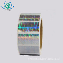 Custom anti-counterfeiting security cheap 3D hologram sticker label