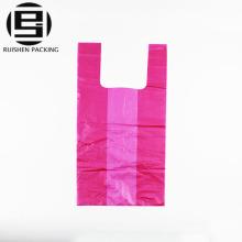 Manija plástica reciclable de la manija de la camiseta del HDPE