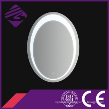 Jnh214 New Arrival Home Decoration Oval Bathroom Mirror with Clock