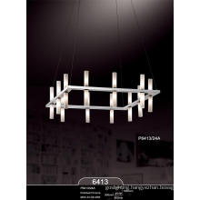 Elegant Modern Glass Project Pendant Lamp (P6413-24A)