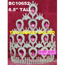 fashion birthday rhinestone diamond bridal tiaras
