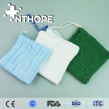 Hot-venda médica tecido gaze abdominal esponja blister polybag embalagem