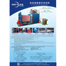 Auto vacuum compress PU foam machine