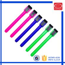Não-tóxico seca rápido Whiteboard caneta magnética com borracha