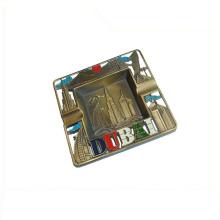 Acceptez le cendrier extérieur de cigare fait sur commande avec le logo fait sur commande