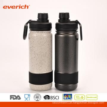 Garrafa De Água Desportiva De Aço Inoxidável