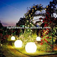 Luz conduzida da esfera do jardim