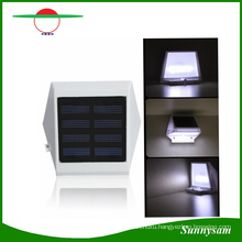 4 LED Solar Fence Light Solar Wall Lights Outdoor Lights Stairs Light