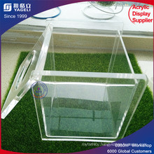 New Design Low Price Acrylic Paper Box for Tissue Facial