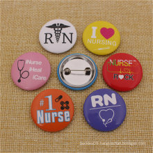 Customize Promotional Metal Souvenir Crafts Pin Tin Button Badge