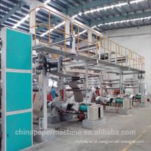 Máquina de fabricação de papel de placa de caixa composta