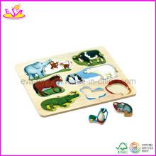 2014 les plus populaires enfants éducatifs en bois Jigsaw Puzzles Factory W14A105